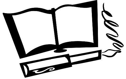 Kniha návštěvníků a plnící pero