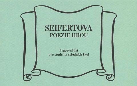 Seifertova poezie hrou
