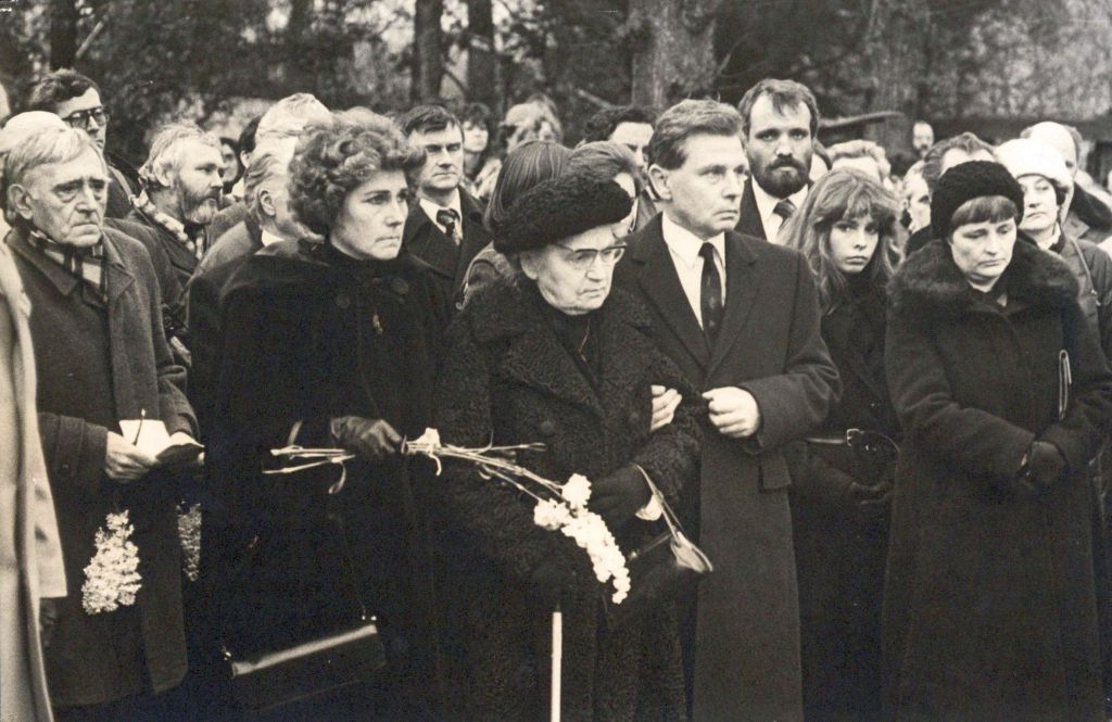 Pohřeb J.Seiferta 21.1.1986